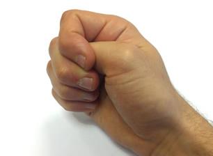 Stitch - clenched fist technique