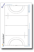 Printable Pitch Templates and Team Sheets PDF | Sportplan