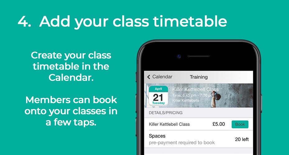 Add class timetable