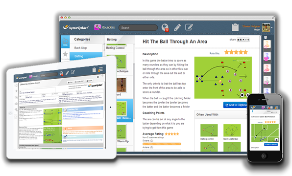 Rounders Drills on Desktop Tablet and Mobile