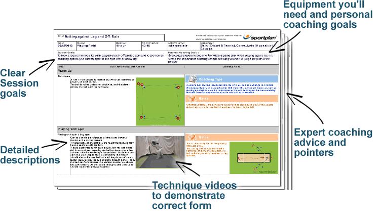 Cricket Lesson Plans