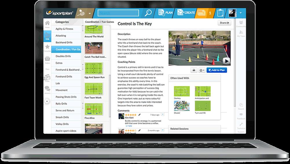 Tennis Coaching Drills Library