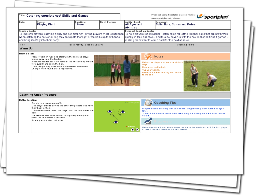 Rounders Lesson Plan: Catching Consistency! Skills and Games