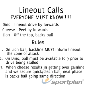 Lineout calls   rulesRugby Drills Coaching