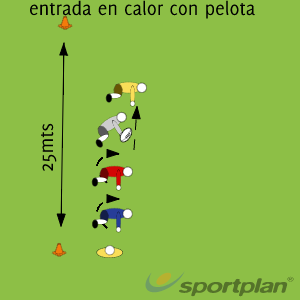 Entrada en calor 1Warm UpRugby Drills Coaching