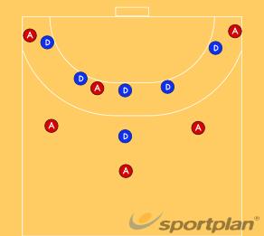 ΤΑΚΤΙΚΗ ΑΜΥΝΑΣ 5:1 - ΟΜΑΔΑ323 defenders movementsHandball Drills Coaching