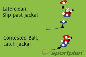 Jackal Assist Decision MakingDecision makingRugby Drills Coaching