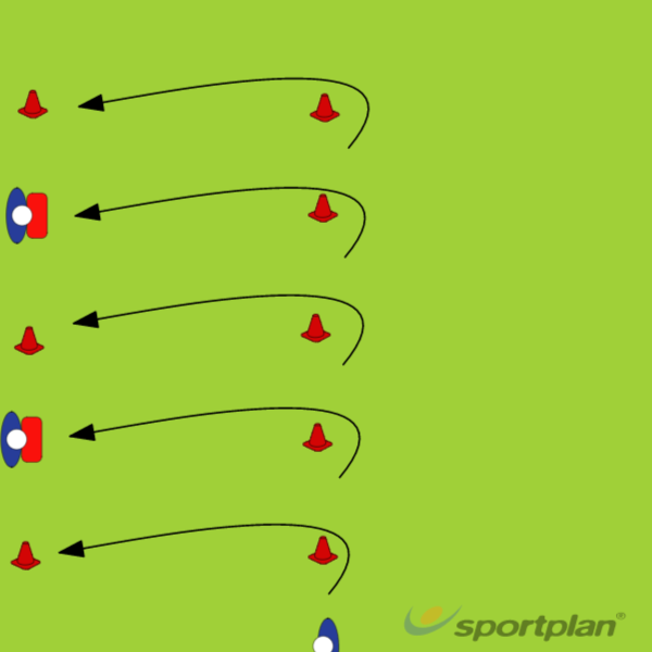 Copy of Moving defense lineDefensive PatternsRugby Drills Coaching