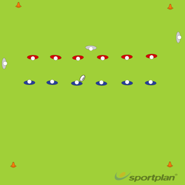 Touch football gameRugby Drills Coaching