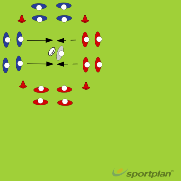 Attacking & defending in contactContact SkillsRugby Drills Coaching