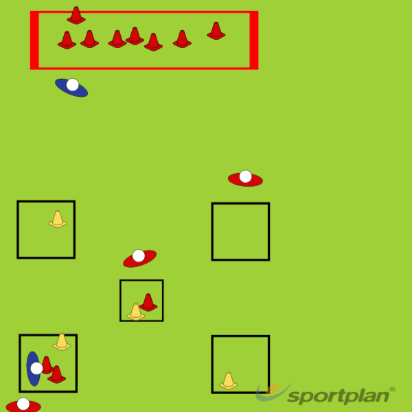 Power ConeTacklingRugby Drills Coaching