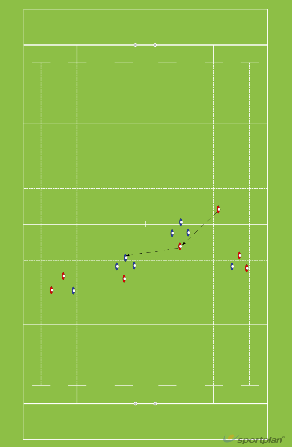 1-3-3-1 21Rugby Drills Coaching