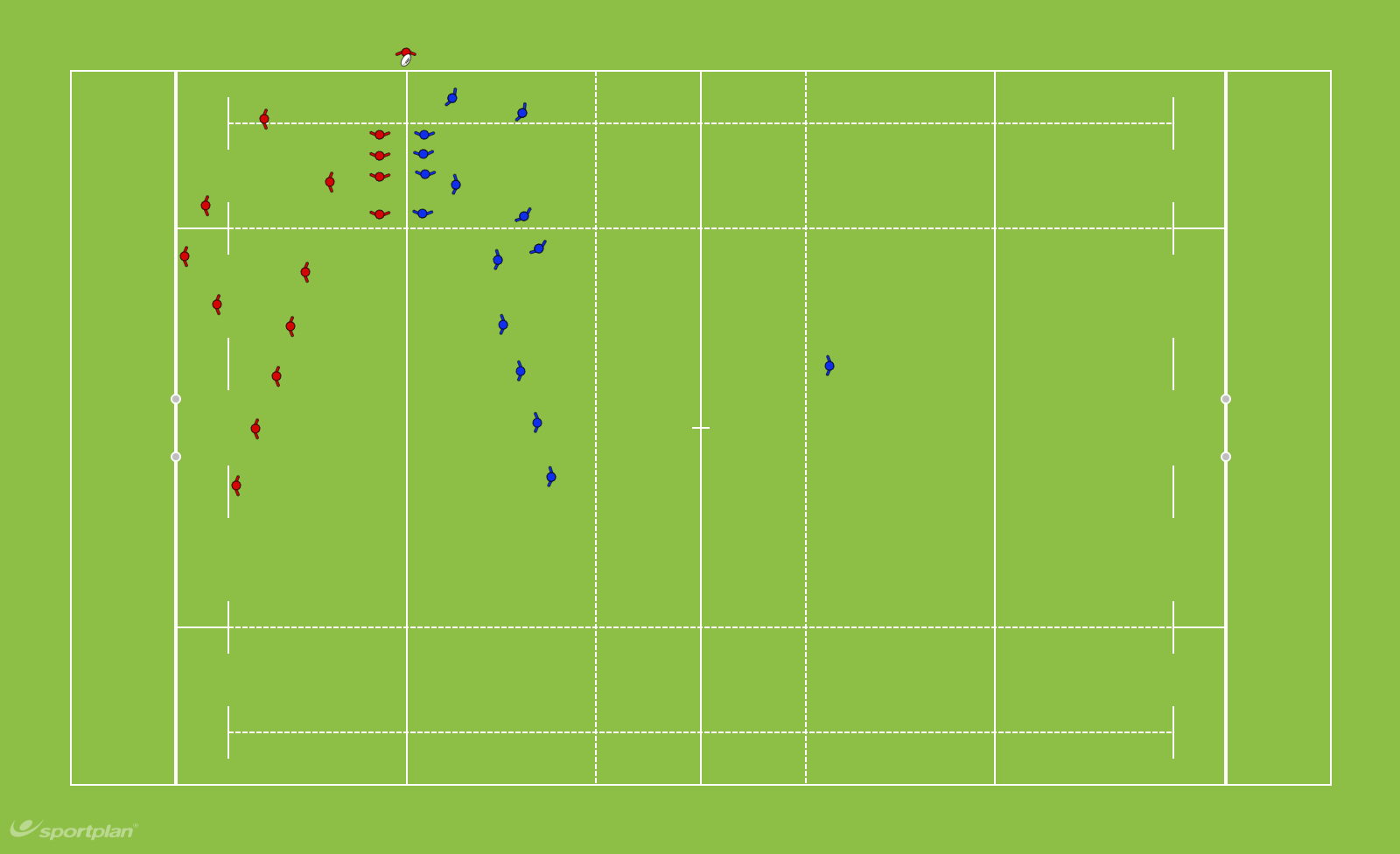 4 Man lineoutRugby Drills Coaching