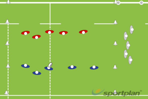 King's Court / Loser's LaneRugby Drills Coaching
