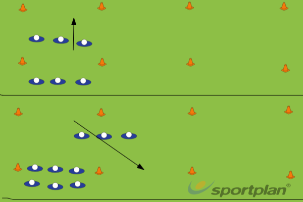 Defence drill 1Defensive PatternsRugby Drills Coaching