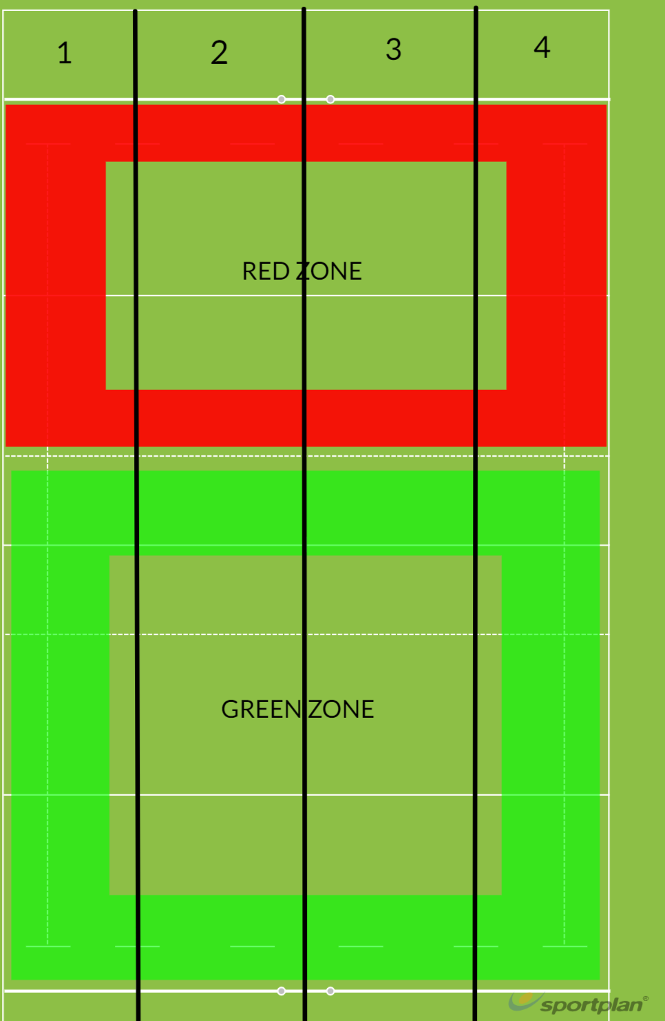 Langley Field MapCoaching toolRugby Drills Coaching