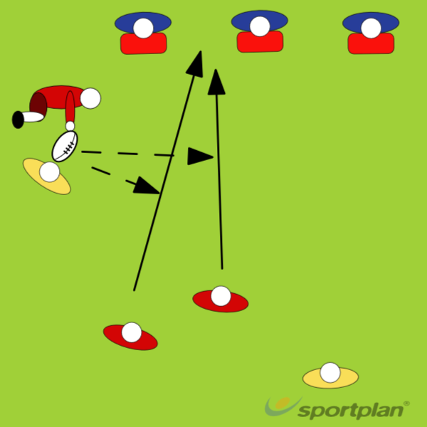 WHITE BALLRugby Drills Coaching