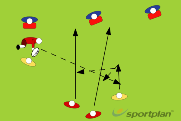 RED BALLRugby Drills Coaching