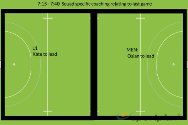 7:15 - 7:40Hockey Drills Coaching