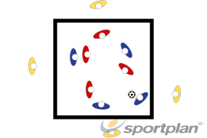 Creating Space and Passing Under PressureFootball Drills Coaching