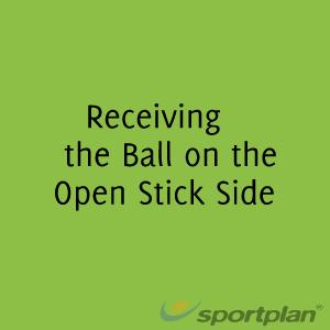 Receiving the Ball the Open Stick SideHockey Drills Coaching