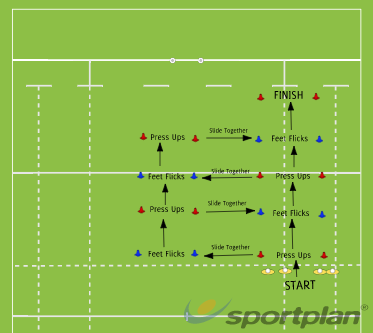 No Man Left BehindWarm UpRugby Drills Coaching