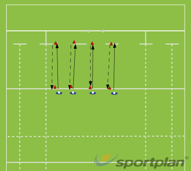 Fitness 1Agility & Running SkillsRugby Drills Coaching