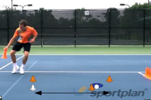 Kegelloop: 6 kegel estafetteFootwork and MovementBasketball Drills Coaching