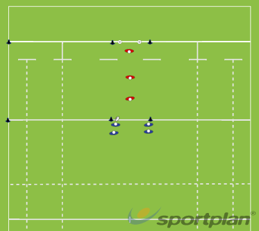 warm up drill 5Rugby Drills Coaching