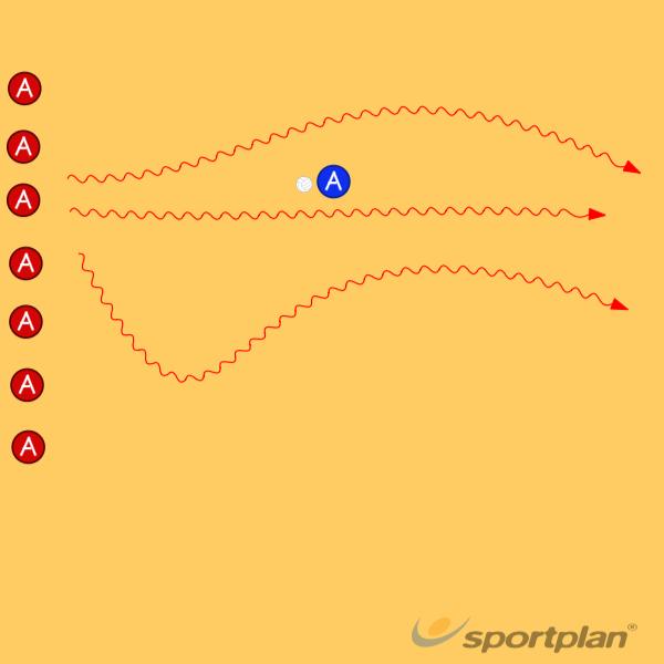 Bulldog with Dodgeball's. [Throwing and Dodging]321 pass/shot feinting(dummy)Handball Drills Coaching