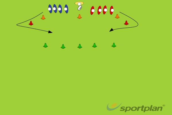 1+1+1 vs 1+1+1Rugby Drills Coaching