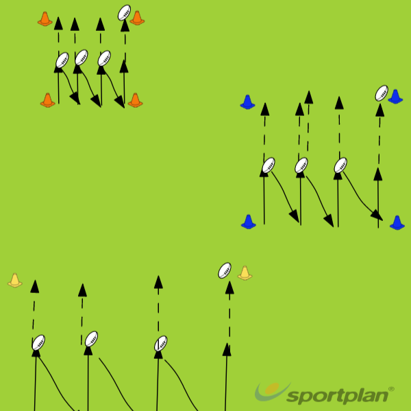 HandlingRugby Drills Coaching
