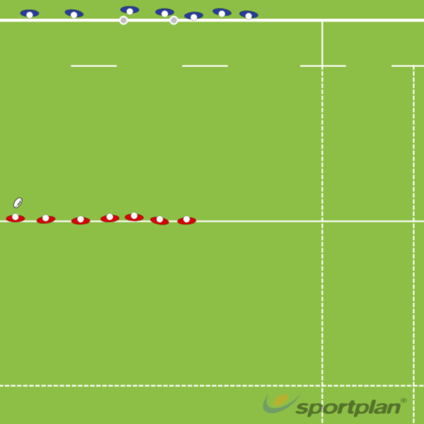 Defensive LinesRugby Drills Coaching