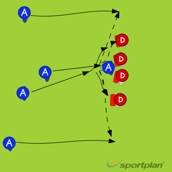 Pick and go, pass,Decision makingRugby Drills Coaching