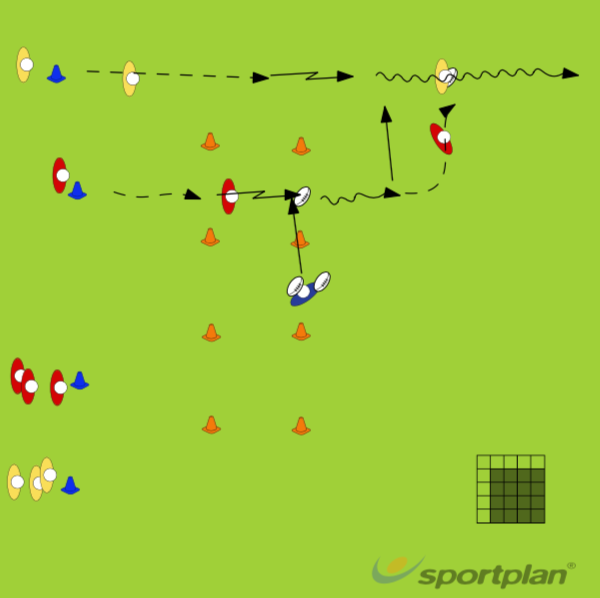 Reach forwardPassingRugby Drills Coaching