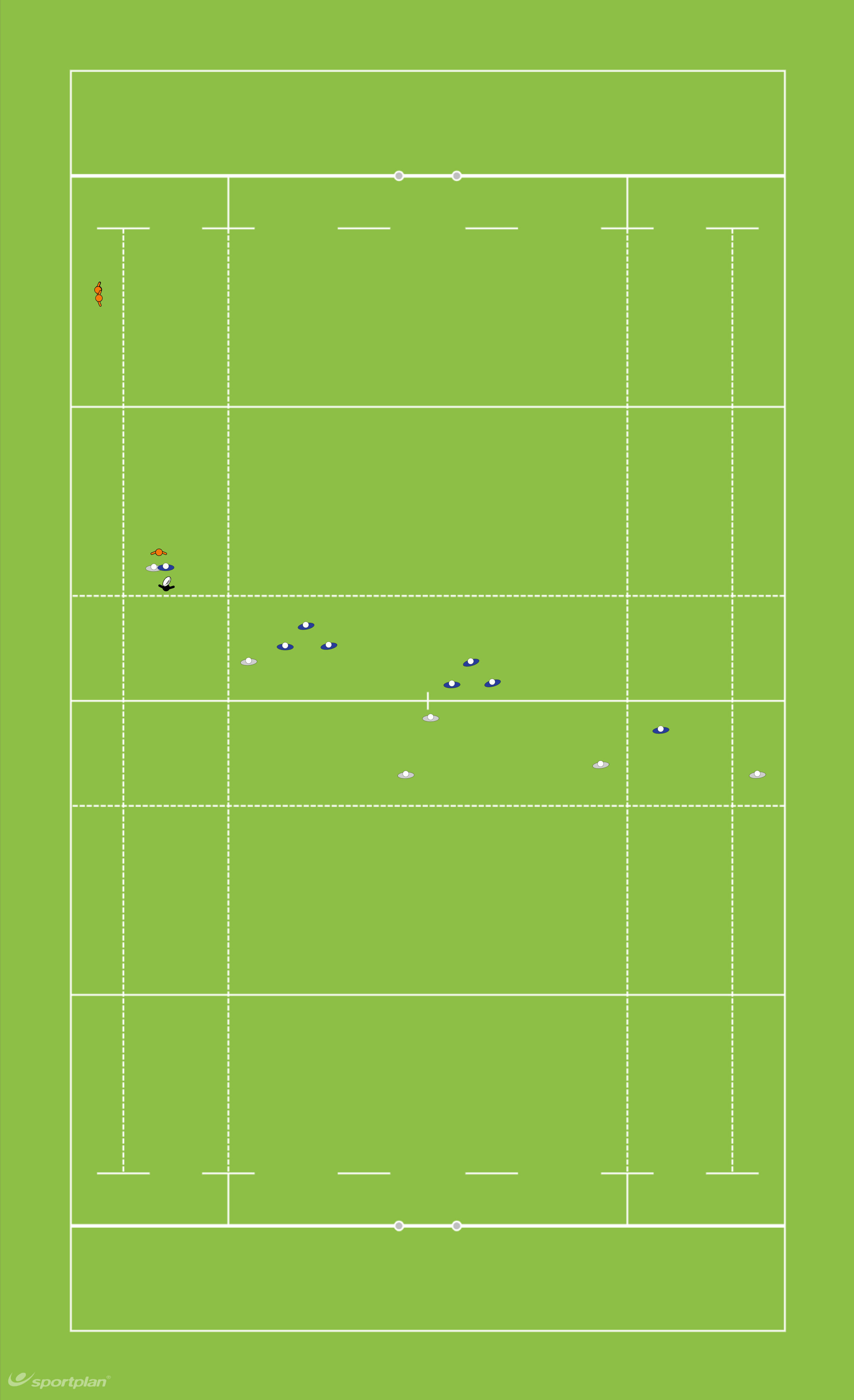 1 3 3 1 Set up (A)Rugby Drills Coaching