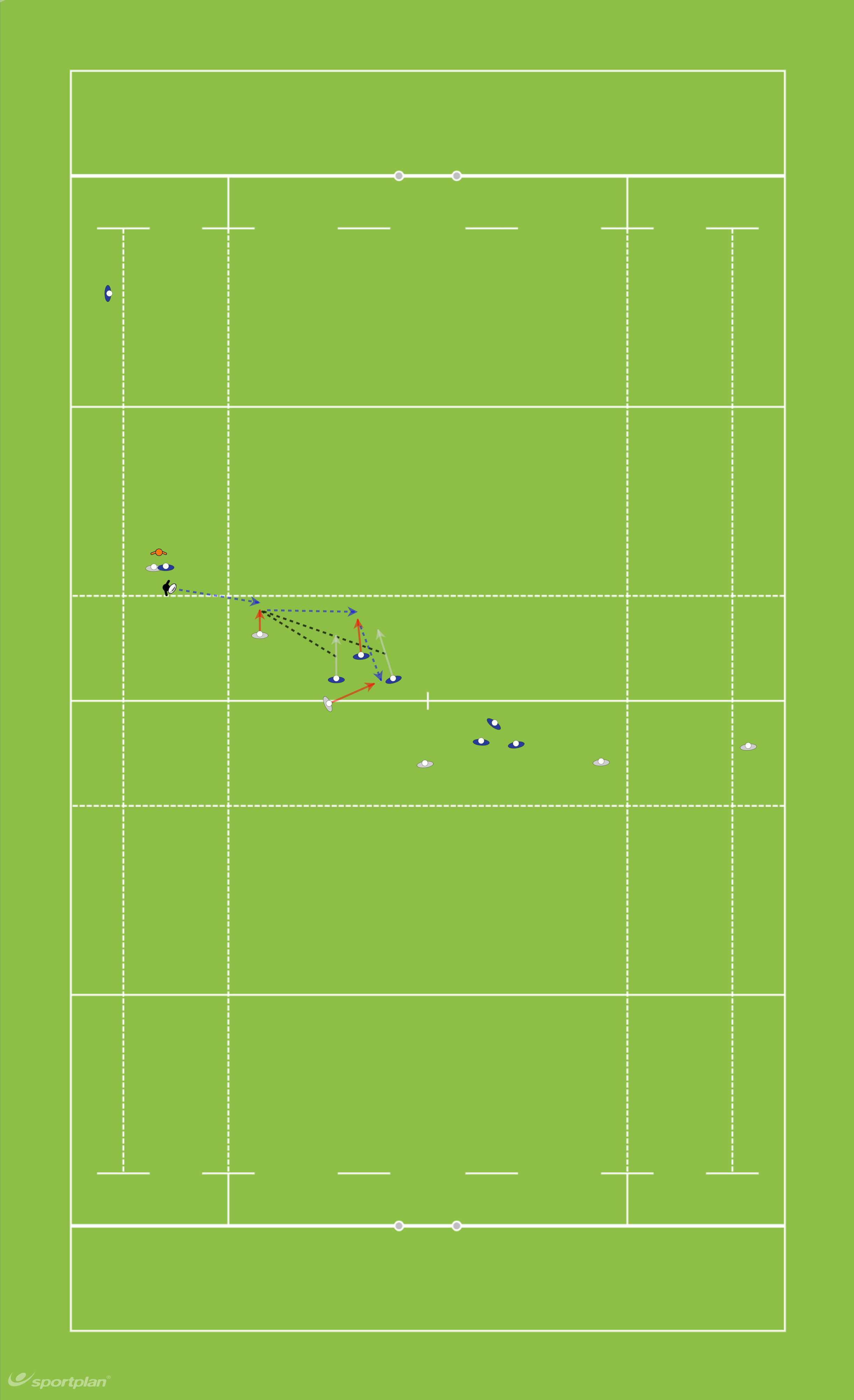 Copy of 1 3 3 1 Set up (B)- CarryRugby Drills Coaching