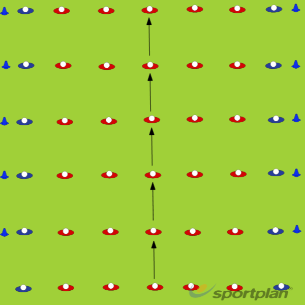 Defensive line Drill (U6)Defensive PatternsRugby Drills Coaching