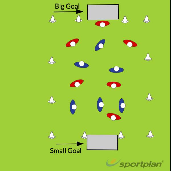 6 vs 6 mini gameRugby Drills Coaching