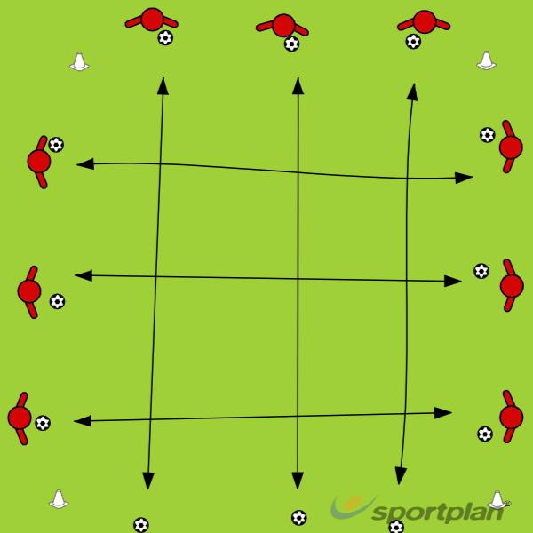U10 / U13 W/UPFootball Drills Coaching