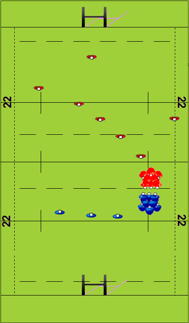 Full Team Run (Scrum)Match RelatedRugby Drills Coaching
