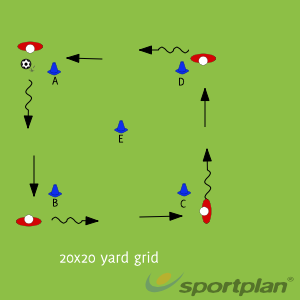 Ball warm up with dynamic stretching (Technical)Football Drills Coaching