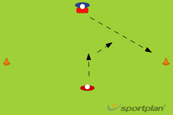 Pick a cone tacklingRugby Drills Coaching