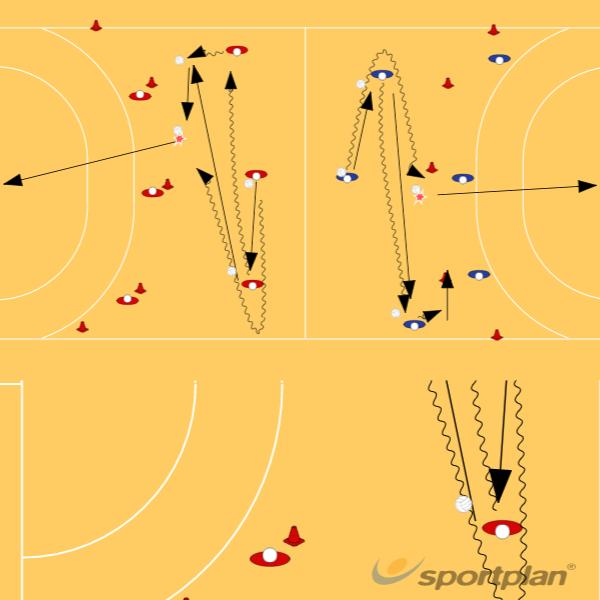 handball session games 4Handball Drills Coaching