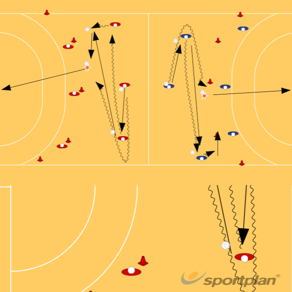 Copy of handball session games 4Handball Drills Coaching