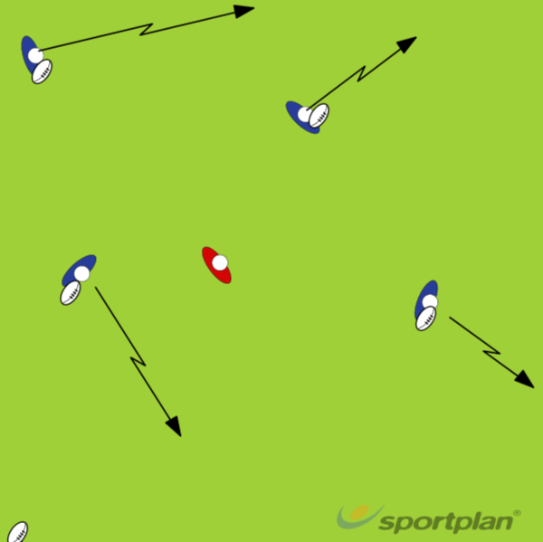 Start and stop tigAgility & Running SkillsRugby Drills Coaching