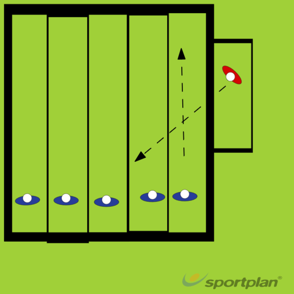 Pass and Press Jail BreakRugby Drills Coaching