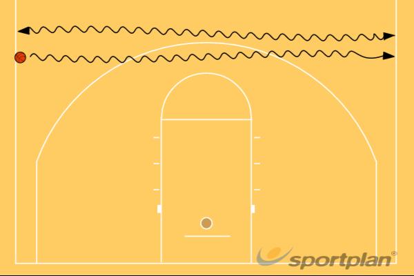 Dribble Back and Forth(one hand)Basic Ball HandlingBasketball Drills Coaching