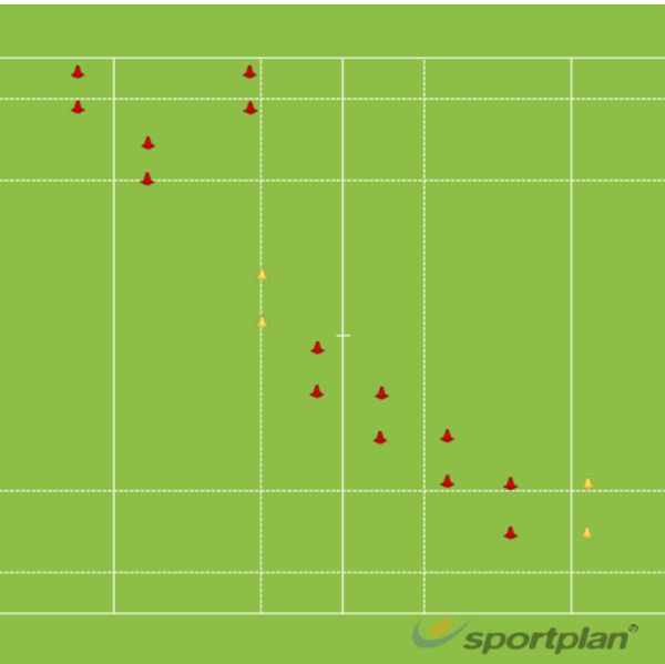 PODS FORWARDS AND COWBOYSPractices for JuniorsRugby Drills Coaching