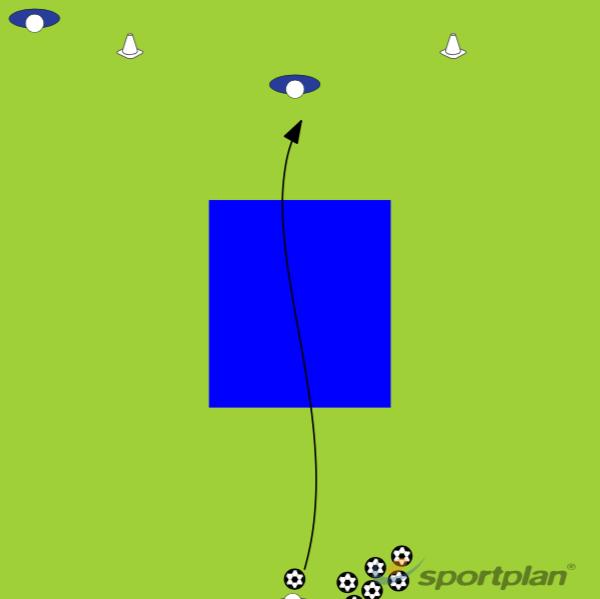 Test 4 - Reaction TestGoalkeepingFootball Drills Coaching